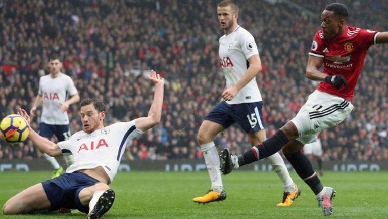 Внушителен коефициент за гол в дербито между Тотнъм и Ман Юнайтед