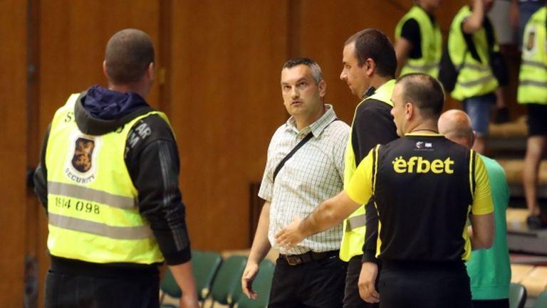 Михаил Михайлов: Как на мача  с Арис в София имаше уникални мерки за сигурност?
