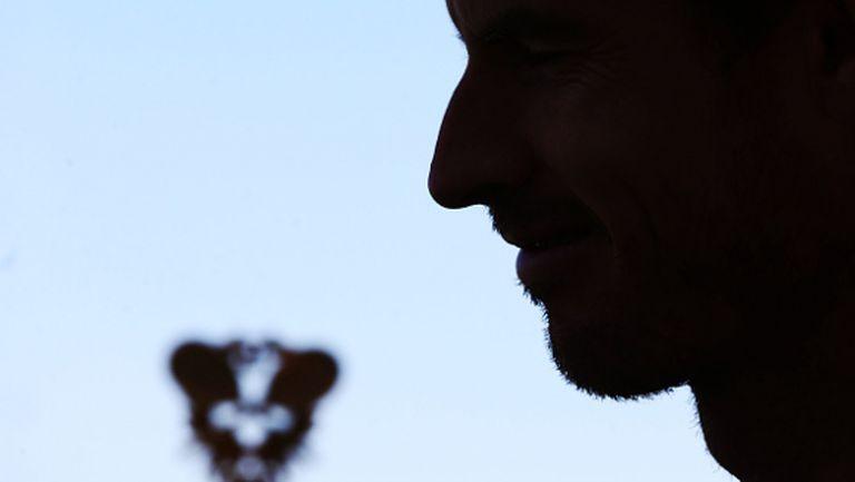 Анди Мъри показа чувство за самоирония (снимка)