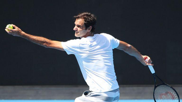 Федерер разкри какво ще прави след 10 години