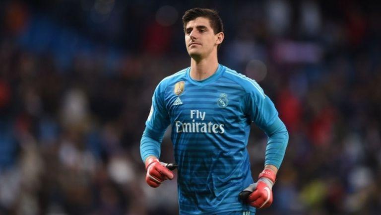 Реал Мадрид ще бъде без Куртоа в следващите седмици