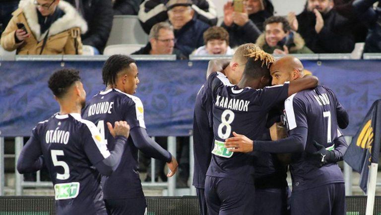 Бордо допълни карето полуфиналисти за Купата на Лигата (видео)