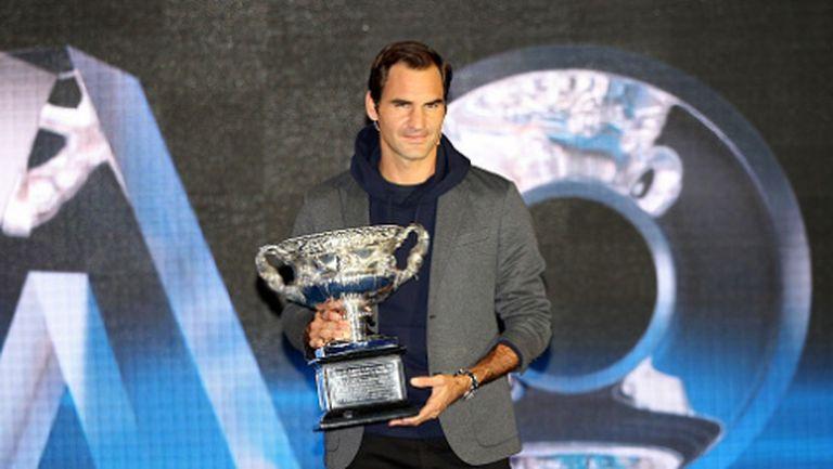 """Федерер срещу """"палач"""" на Джокович в първия кръг на Australian Open"""
