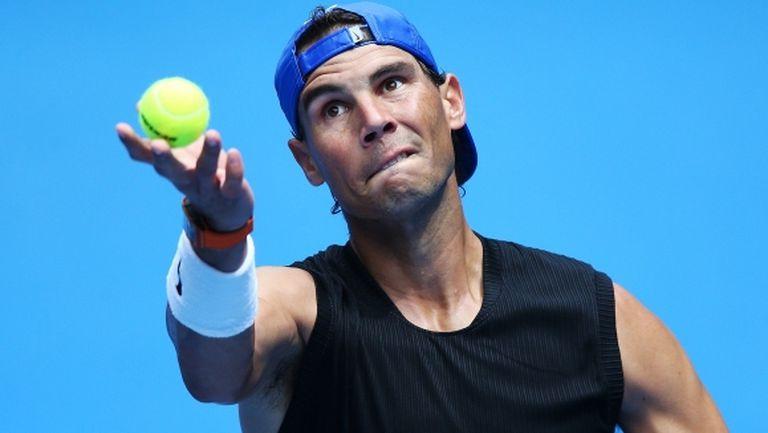 Трите промени в сервиса на Рафаел Надал преди Australian Open
