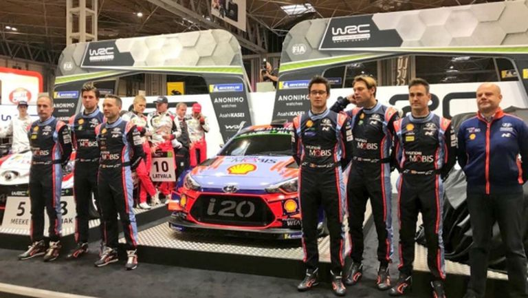 Toyota и Hyundai с най-малко промени в дизайна на WRC автомобила
