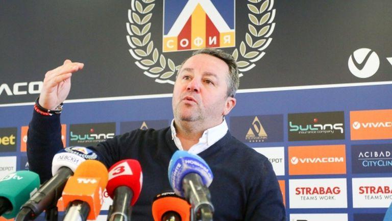 Стоянович снима тренировките с дрон