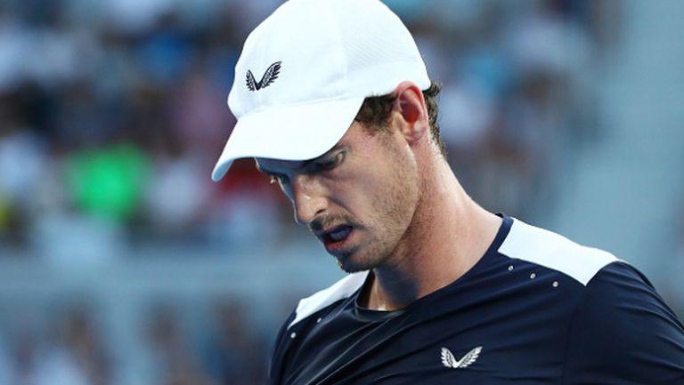 Анди Мъри се сбогува с Australian Open (видео)