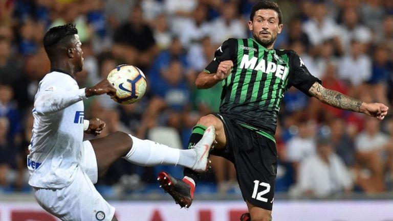 Сасуоло отряза Милан за италиански национал