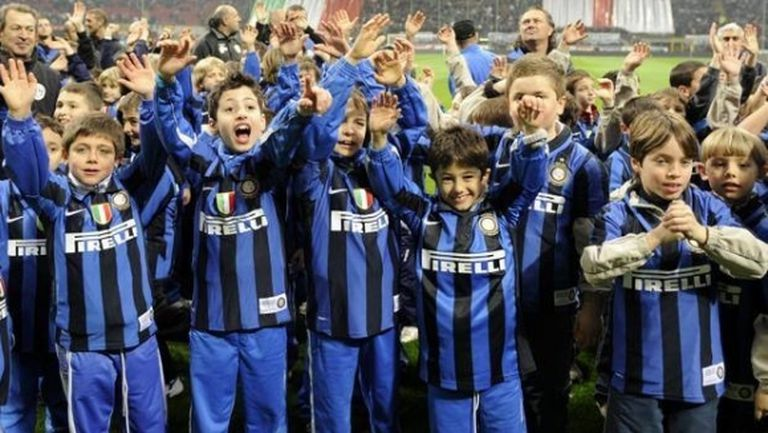 Над 10 хиляди деца ще подкрепят Интер срещу Сасуоло