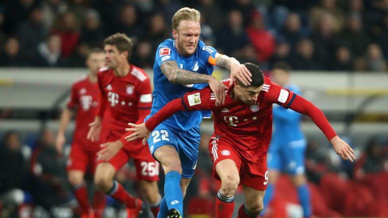 Байерн Мюнхен съкрати изоставането от лидера Борусия Дортмунд (видео)