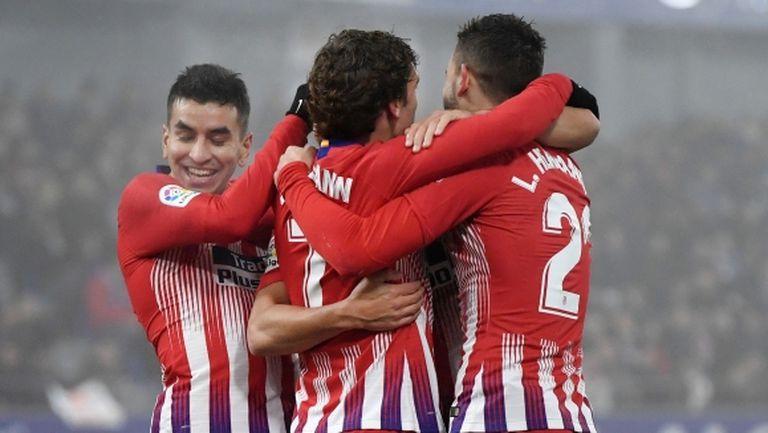 Атлетико изравни най-голямата си победа в мъгливия Арагон (видео)