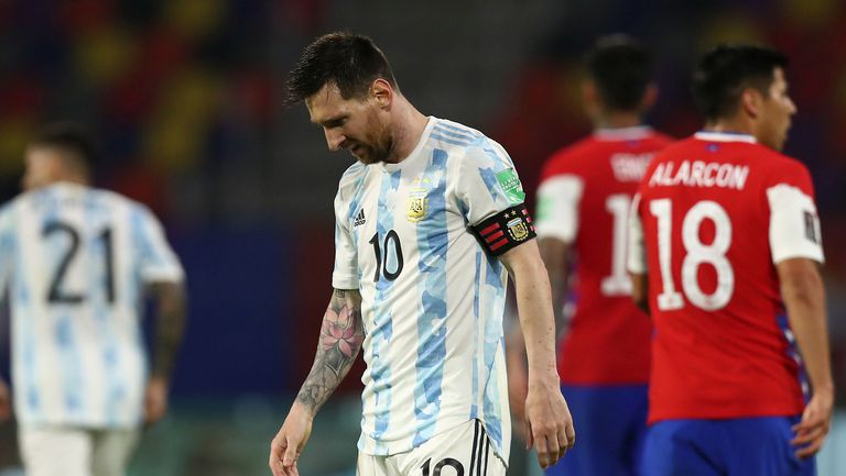 """Аржентина се препъна срещу Чили, Меси с гол №72 за """"гаучосите"""""""