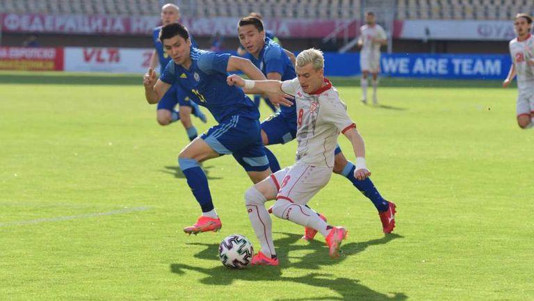 Северна Македония вкара четири срещу десетима от Казахстан (видео)