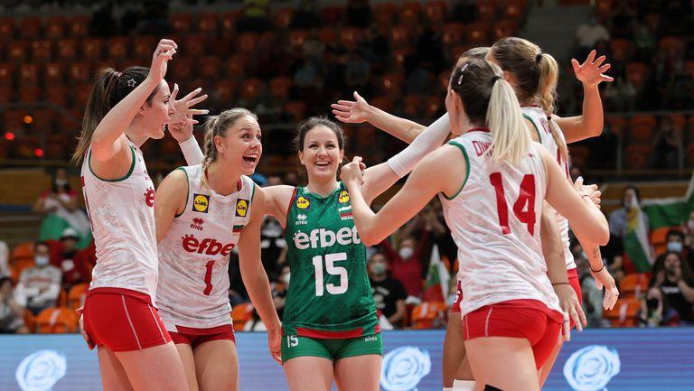 Златна европейска лига: България - Словакия 3:0