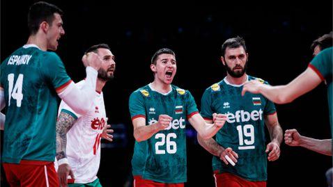 България излиза срещу Иран в търсене на втори успех в Лигата на нациите 🏐🇧🇬