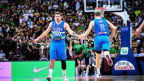 Историческо! Фамозен Дончич класира Словения на Олимпиадата и потопи Литва в сълзи