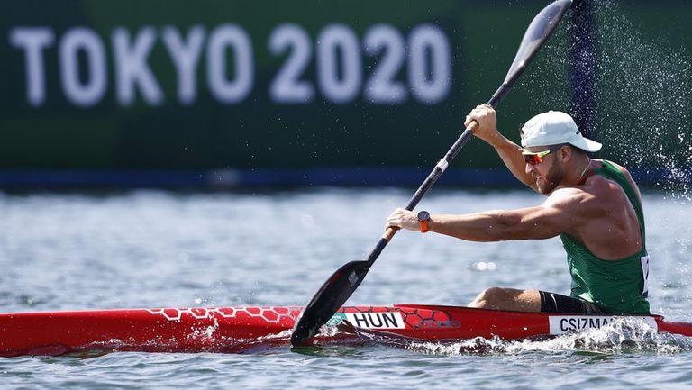 Колош Чизмадия с най-добро време на олимпийски игри в едноместния каяк на 200 метра