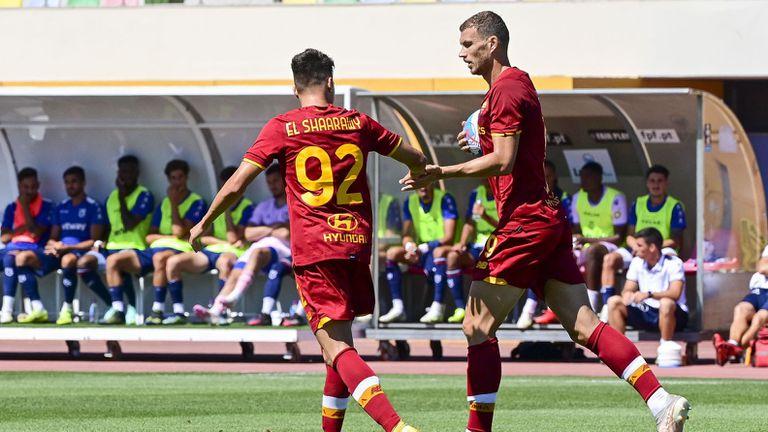 Комичен гол не спря Рома за победа срещу Беленензеш (видео)