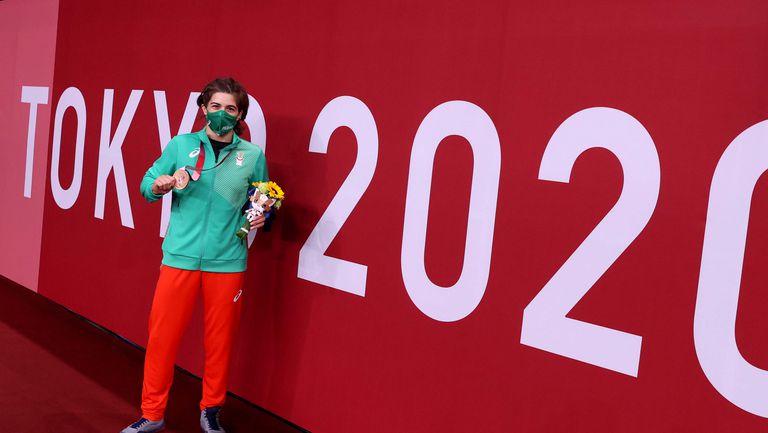 Класиране по медали в края на 12-ия ден на Игрите в Токио