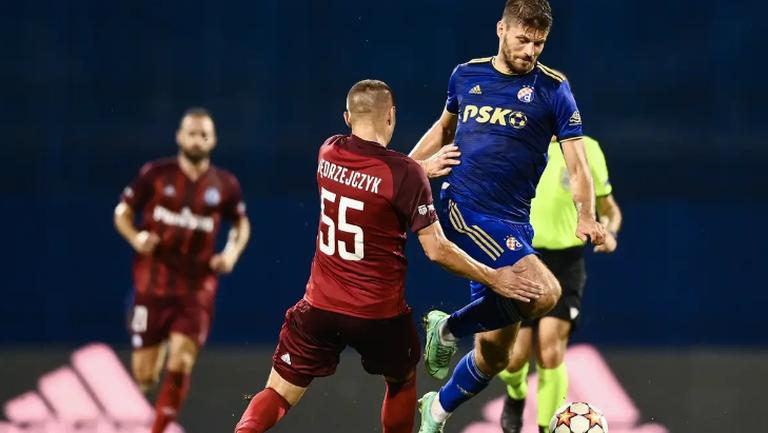 Динамо (Загреб) не успя да вземе преднина срещу Легия