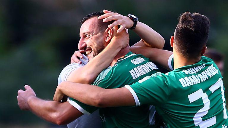 Васил Тачев вкара втория си гол в мача и Оборище отново е напред