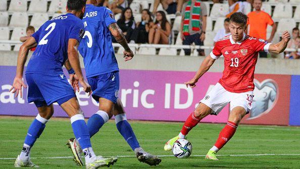 Кипър - Русия 0:2