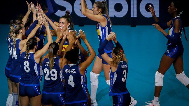 Италия отчая Сърбия и завоюва титлата на Евроволей при жените