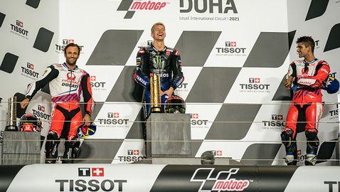 Френска доминация на състезанието в Доха от MotoGP