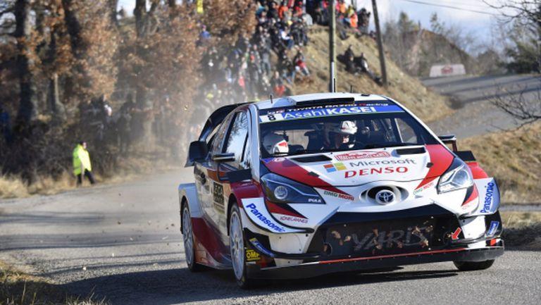 Танак и Toyota зададоха началното темпо на рали Монте Карло