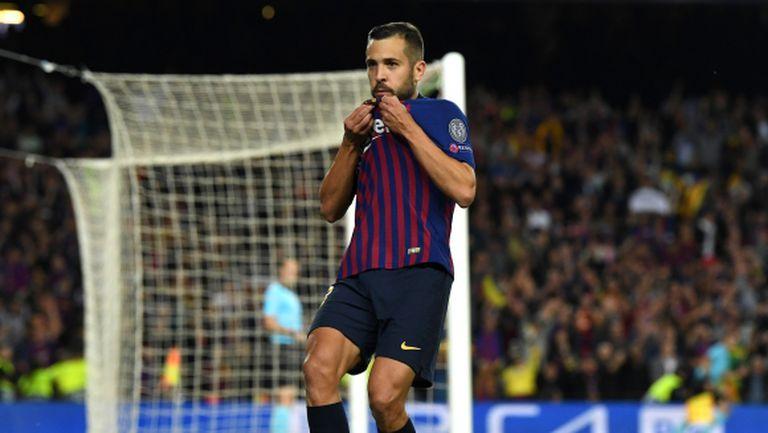 Жорди Алба: Не се виждам извън Барселона