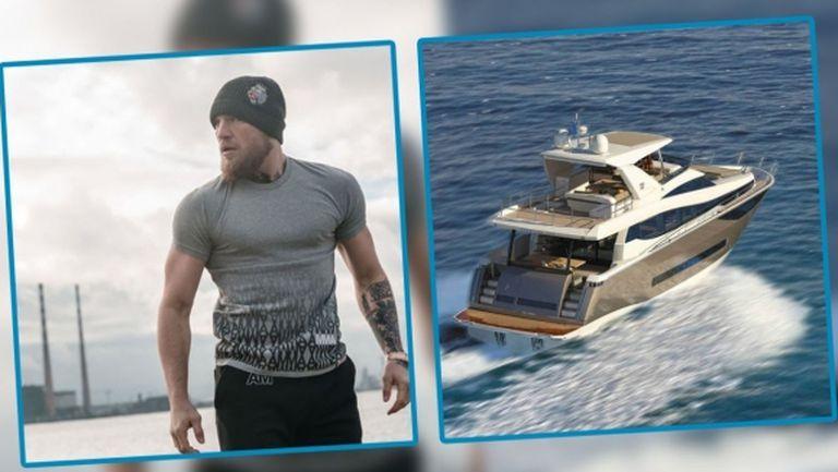 Конър Макгрегър се похвали с новата си яхта за 3.5 млн.