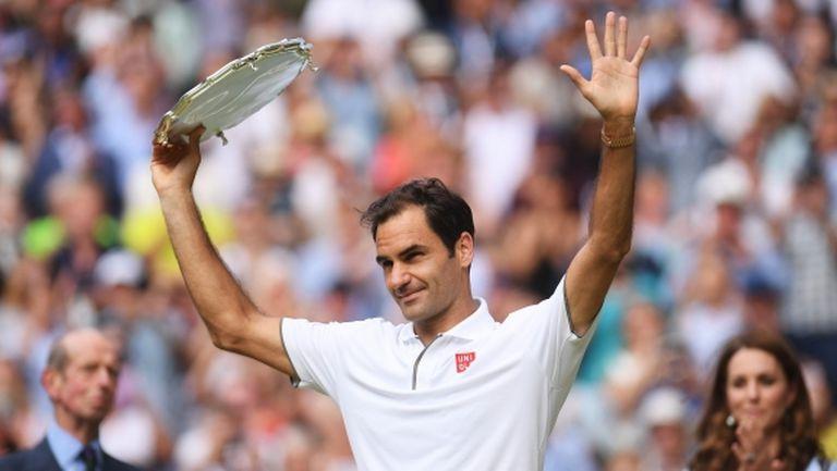Федерер на път да счупи рекорда за най-голяма публика за тенис мач
