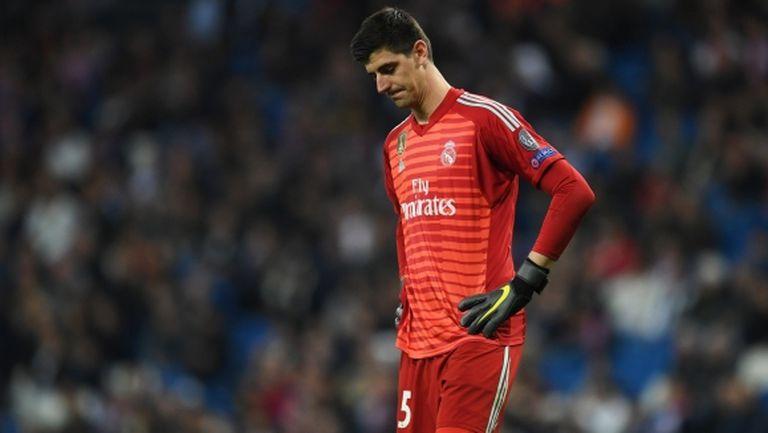 Куртоа е поредният контузен в Реал Мадрид