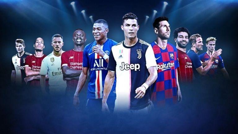 Меси, Кристиано и Ван Дайк сред номинираните за приза The Best на ФИФА