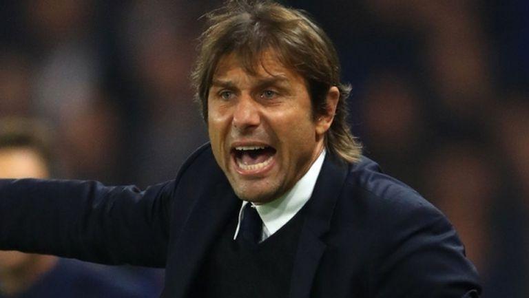 Рома започна преговори с Конте