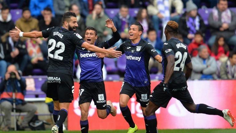Гол след гол във Валядолид, шумна загуба за отбора на Роналдо (видео)