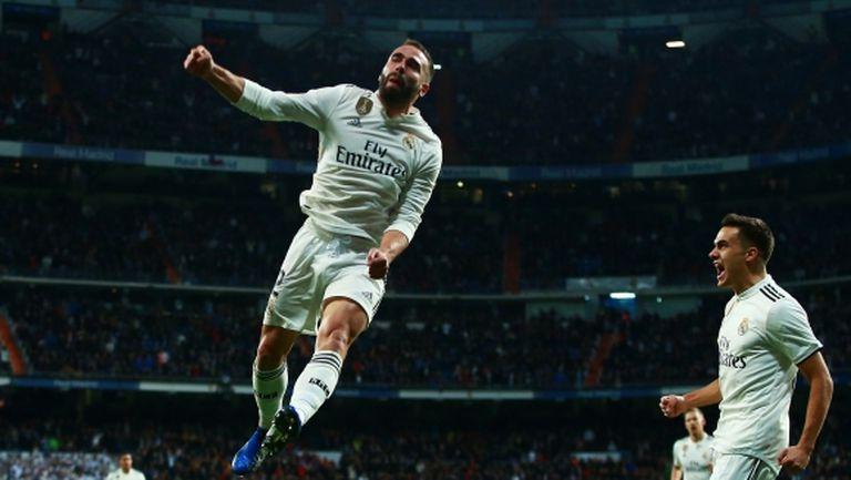 Реал Мадрид изигра вдъхновено първо полувреме и пребори Валенсия (видео + галерия)