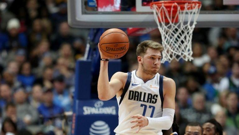 Дончич вече печели награди и в НБА