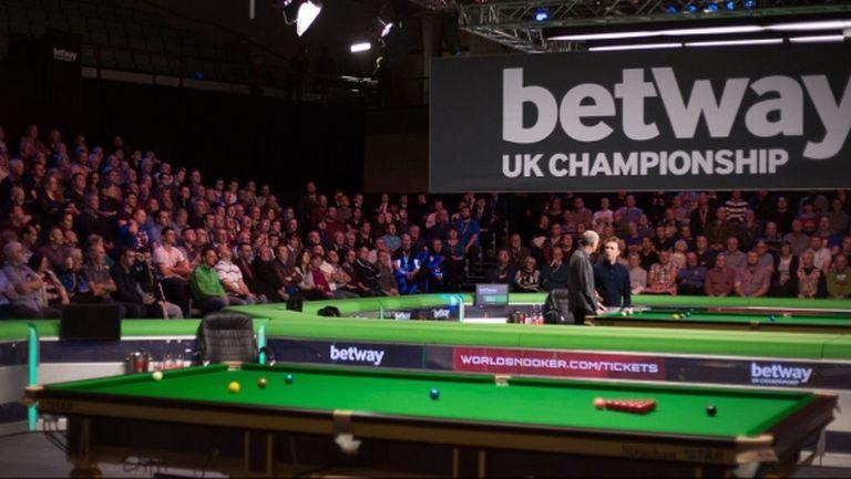 Програмата на 1/8-финалите на UK Championship