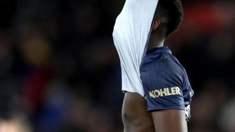 Погба отново не останал длъжен на Моуриньо