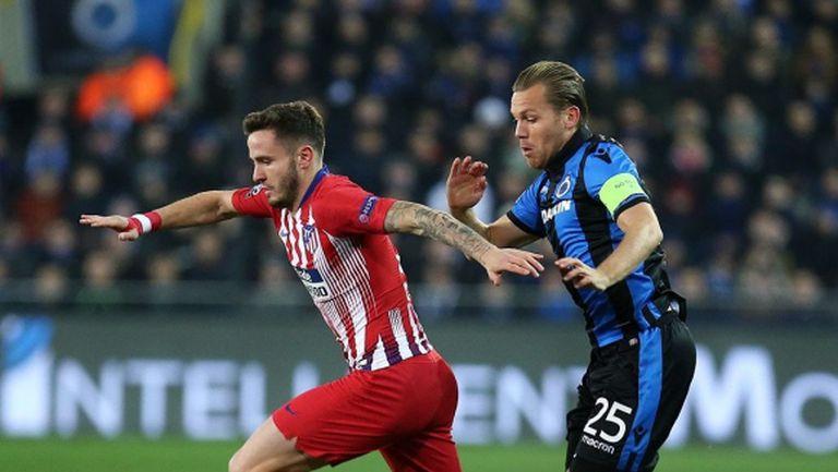 Много пропуски и разочарование за Атлетико в Белгия (видео)