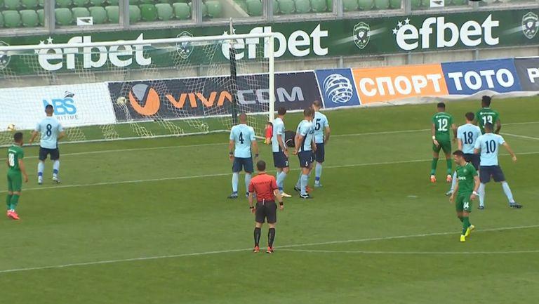 Марселиньо откри за Лудогорец в 10-ата минута