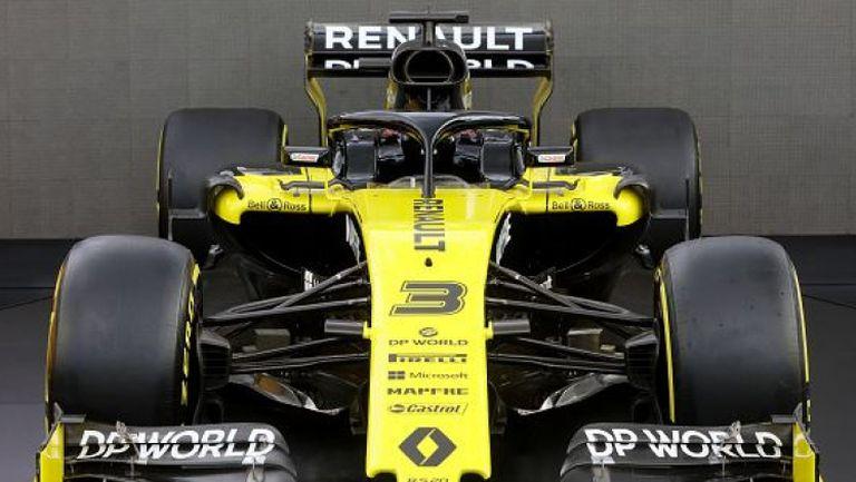 Отборът на Рено остава във Формула 1