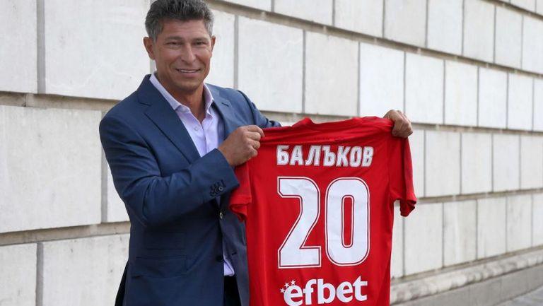 Балъков: Целта пред ЦСКА 1948 е всеки мач да играем все по-качествен футбол