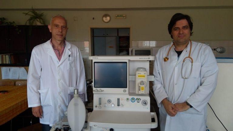Болницата в Стара Загора вече разполага с дарената техника от Берое