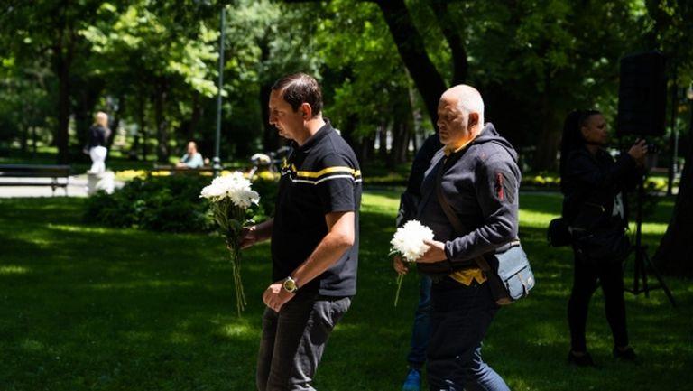 Ботев (Пд) почете 144-ата годишнина от смъртта на клубния патрон (снимки)