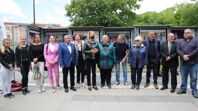 Спортни легенди приветстваха откриването на уникална фотоизложба на Иван Йочев (видео + галерия)