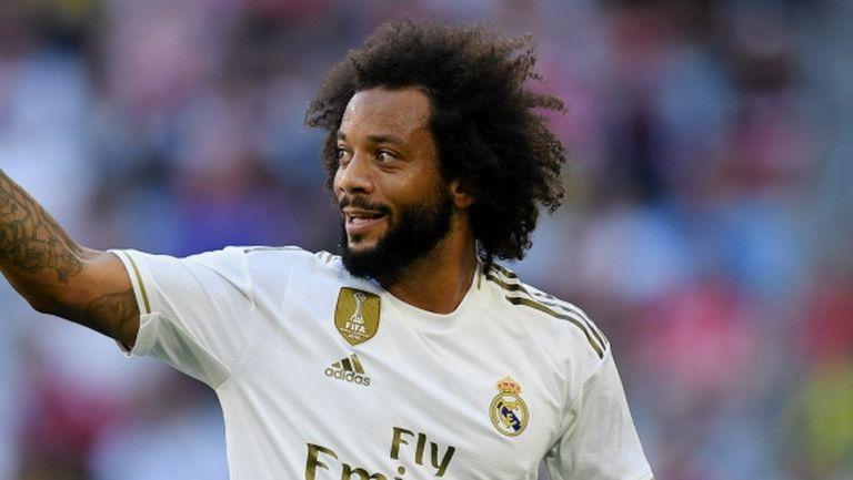 Марсело: Реал Мадрид ме научи да се боря докрай