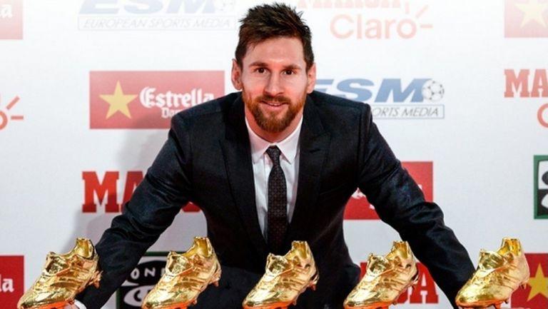 """Меси целуна """"Златната обувка"""" за пети път: Играя с най-добрите в света"""