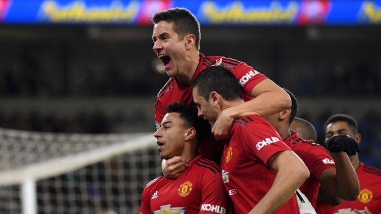 """Солскяер пак помогна на Юнайтед от скамейката, """"червените дяволи"""" не бяха вкарвали толкова голове от времето на сър Алекс (видео)"""